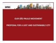 Institucional Presentacion - Rede Nossa São Paulo
