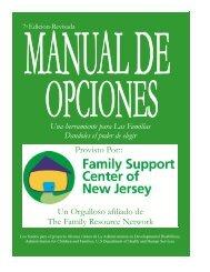 R E C U R S O S - Family Support Center of New Jersey