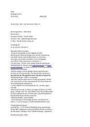 Halle Haflingerturnier 01.05.2012 WBO/LPO Veranstalter: Reit- und ...