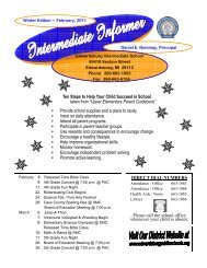 Ten Steps to Help Your Child Succeed in - Edwardsburg ...