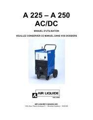 A 225 – A 250 AC/DC - BLUESHIELD