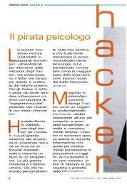 II pirata psicologo - Prof. Marco Costa