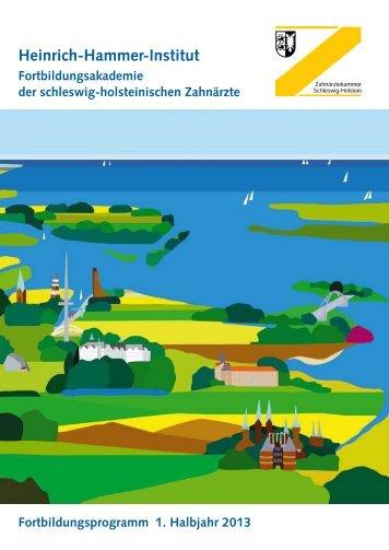 55. Sylter Woche - Zahnärztekammer Schleswig-Holstein