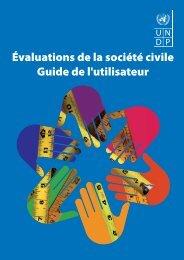 Évaluations de la société civile Guide de l'utilisateur - Governance ...