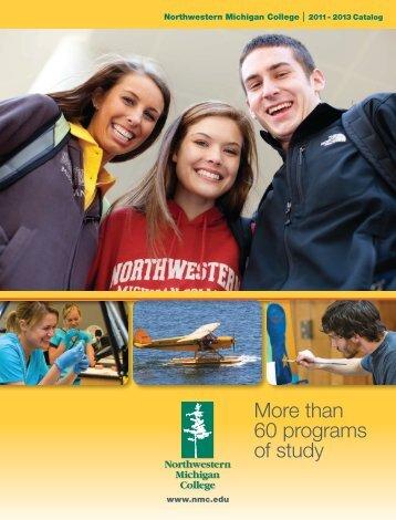 2011–2013 NMC Catalog - Northwestern Michigan College