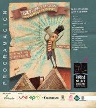 Programación Fiesta del Libro y la Cultura 2011.pdf - Ministerio de ...