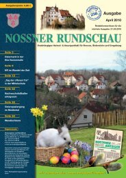 April 2010 - Nossner Rundschau