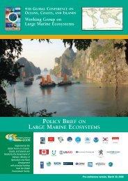 Large Marine Ecosystems - Global Ocean Forum