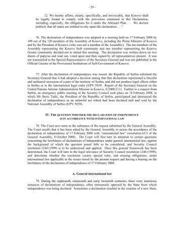 international court of justice - Internationalhumanrightslaw.net