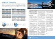 Jahresbericht 2010 - Senioren-Universität und Senioren ...