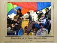 Kooperation mit der Janusz-Korczak-Schule - Paula Fürst Schule