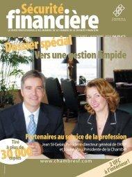OCTOBRE / NOVEMBRE 2004 Vol. 29, no 5 - Chambre de la ...