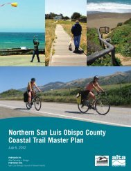 Northern San Luis Obispo County Coastal Trail Master Plan