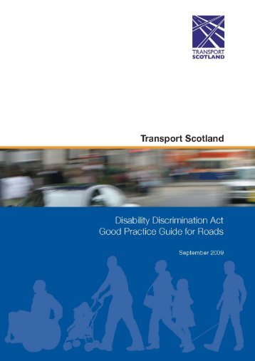 Disability Discrimination Act: Good Practice Guide for Roads