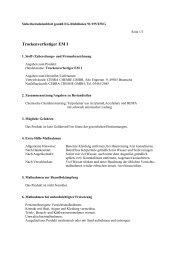SDB - Cebra Chemie Gmbh Bramsche