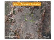 Map 1. Santiago: Overview - Departamento de Geofísica ...