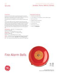Data Sheet FX85001-0333 -- Fire Alarm Bells