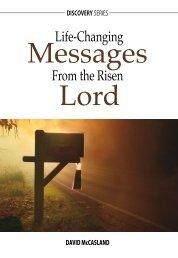 Life-Changing Messages from the Risen Lord - RBC Ministries