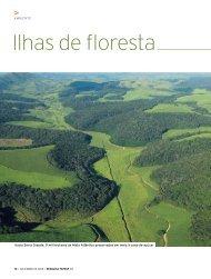 Ilhas de floresta - Revista Pesquisa FAPESP