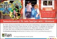 Semesteräventyr för hela familjen mitt i Sörmland