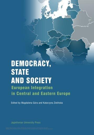 DEMOCRACY, STATE AND SOCIETY - Wydawnictwo Uniwersytetu ...