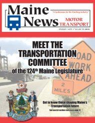 February / March 2009 Edition - MMTA
