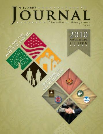 Fall 2010 Special Edition - imcom - U.S. Army