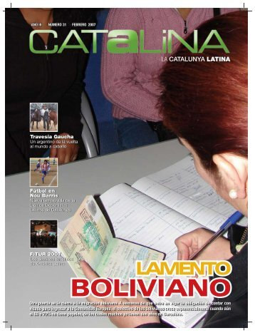 boliviano - Revista Catalina