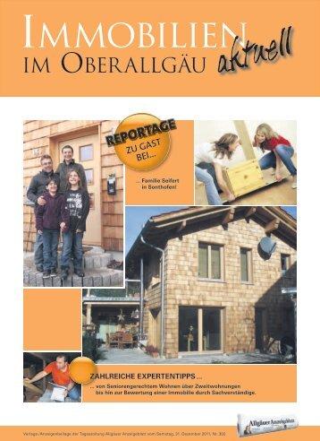 IMMOBILIEN - Allgäuer Anzeigeblatt