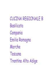 Cucina regionale B.pdf - Agriturismo e bed and breakfast in Italia