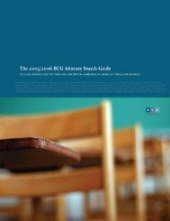 The 2005/ 2006 BCG Attorney Search Guide To ... - Legal Recruiters