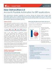 Esker DeliveryWare 6.0