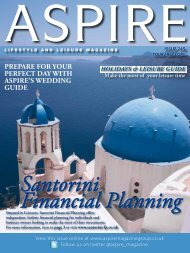 prepare for your perfect day with aspirels ... - Aspire Magazine
