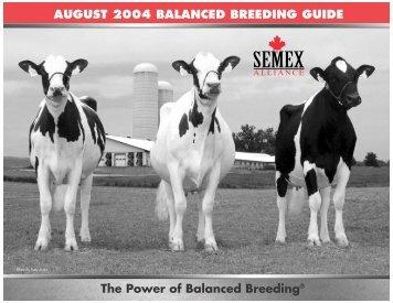 The Power of Balanced Breeding® AUGUST 2004 BALANCED ...
