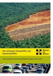 Het verborgen klimaateffect van biobrandstoffen - Natuur & Milieu