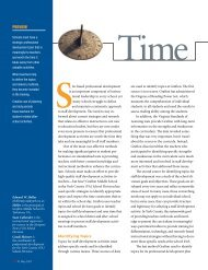 Time Well Spent - National Association of Secondary School ...