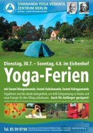 Anmeldeformular (PDF) - Sivananda Yoga