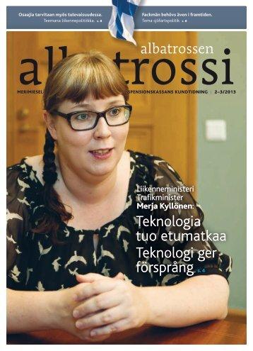 Albatrossi 2-3/2013 - Merimieseläkekassa
