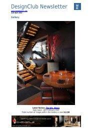DesignClub Newsletter - Hotel Designs