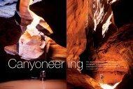Canyoneering Photography - James Kay Photography