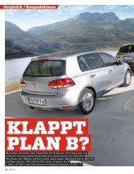 Vergleich Kompaktklasse - Volkswagen AG