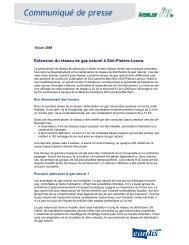 Extension du réseau de gaz naturel à Sint-Pieters-Leeuw - Eandis