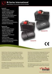 M-Series International - OutBack Power Systems