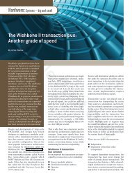 The Wishbone II transaction bus - Military Embedded Systems