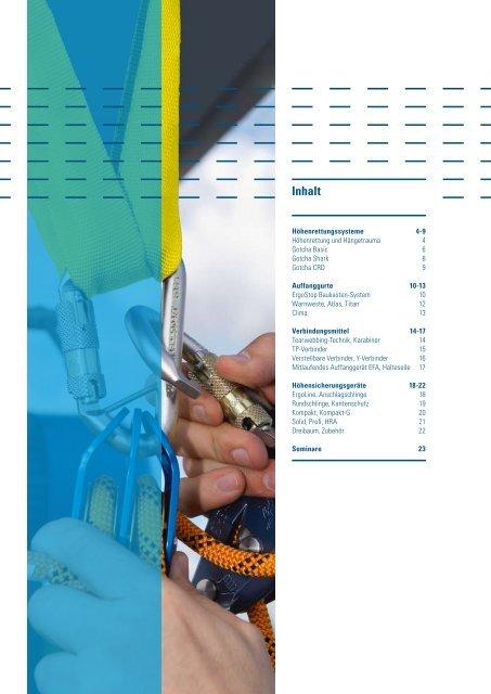 Katalog Höhensicherung 2008 - SpanSet GmbH & Co. KG