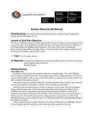 Borders-Where Do We Belong? - Wolf Creek Public Schools