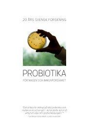 Information om Probiotika - Scientific Communication AB