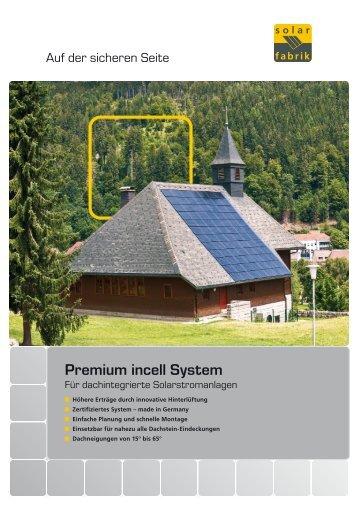 Premium incell System - Solar-Fabrik AG