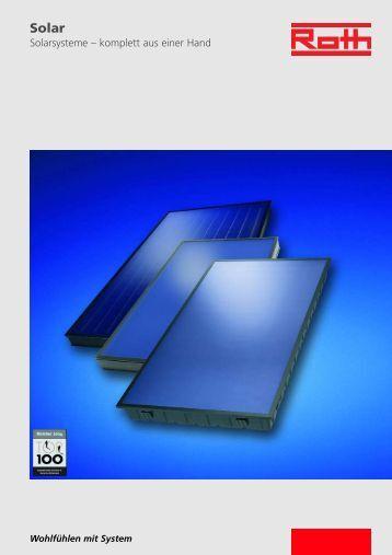 Solarsysteme – komplett aus einer Hand - Ries GmbH