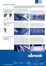 Photovoltaik auf RIB-ROOF - Zambelli GmbH & Co. KG